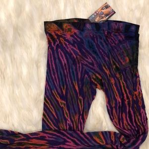 NWT! Hand dyed leggings yoga pants boho hippie